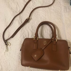 Tory Burch Robinson small top handle bag.